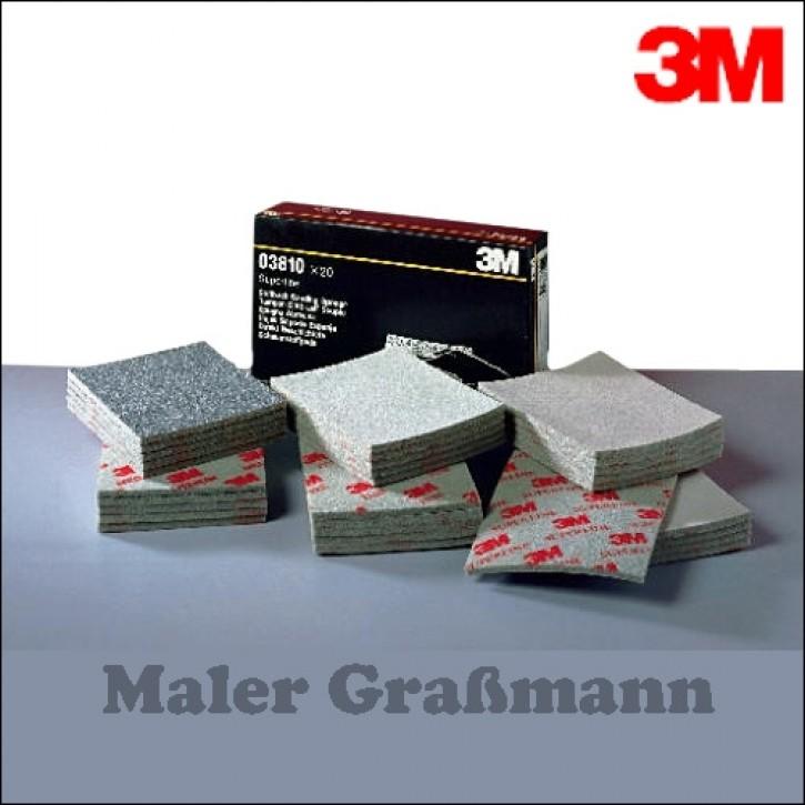 3M Soft-Pad Schleifschwamm mittel (ca. P80)